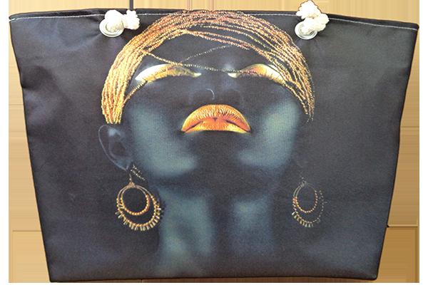 Afrikalı Bronz Kadın Çanta