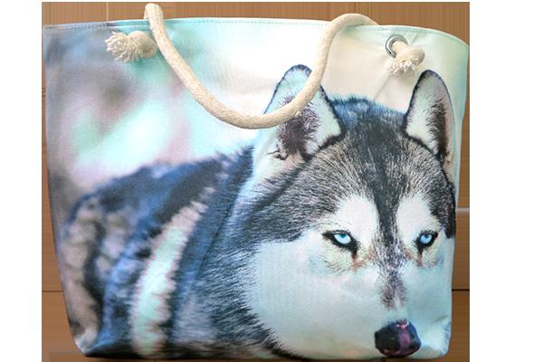 Sibirya Kurdu Çanta