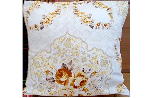 Dekoratif Yastık Çiçek Desenli Kırlent