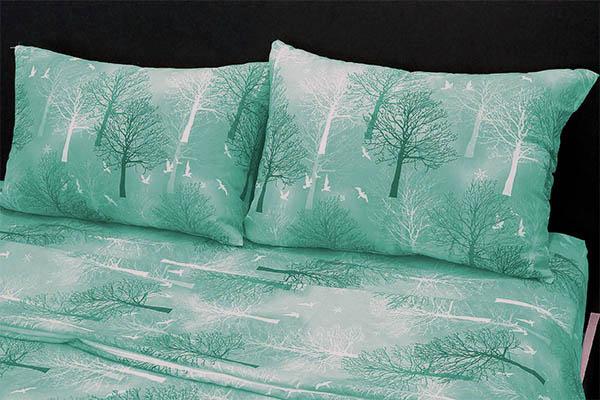 Ranforce Nevresim Takımı Astana Ağaç Yeşil