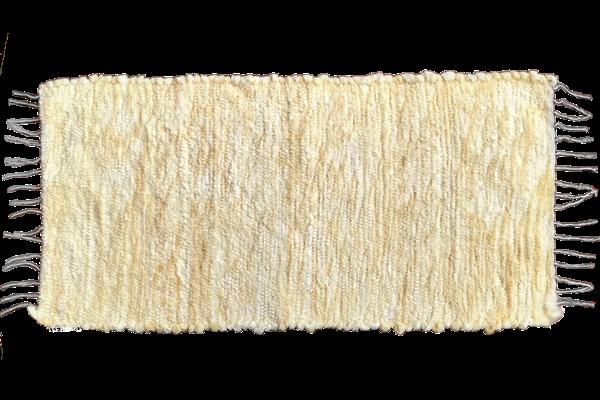 Peluş Paspas Sarı