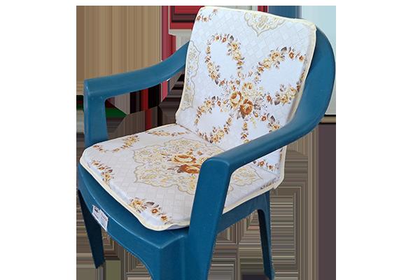 Sandalye Minderi Çiçek Desenli